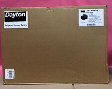 Dayton 4ukv9 1port Refrigerant Recovery Machine