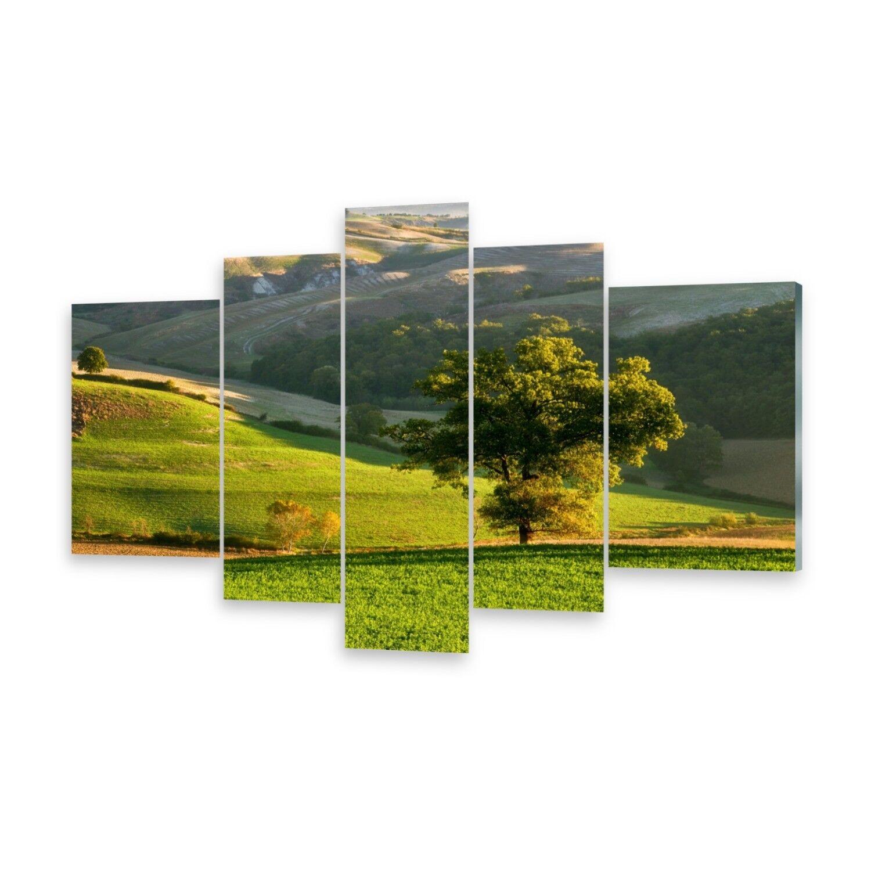 Mehrteilige Bilder Glasbilder Wandbild Toskana