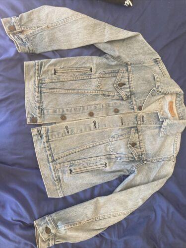 levis denim jacket made in USA - image 1