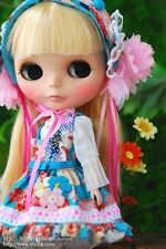 BHC Thousand Flower Lolita dress set for Kenne Blythe doll - doll outfit - FN590