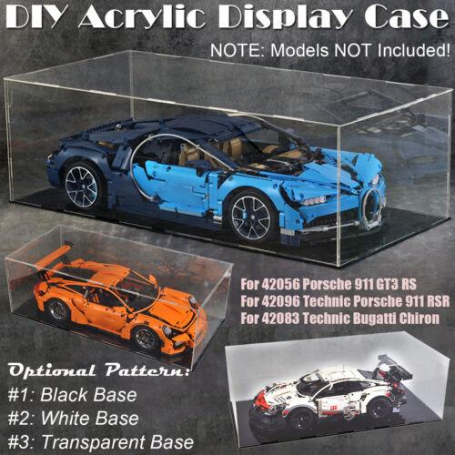 3 mm)Display Case DIY Acryl Vitrine Für 911 GT3 RS 42056 42096 42083(Dicke