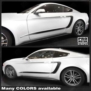 Ford-Mustang-2015-2019-Side-Accent-C-Stripes-Decals-Choose-Color