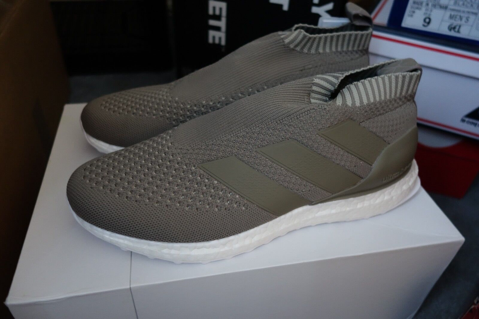 Adidas ACE 16+ PureControl Ultra Boost size 9.5 Clay CG3655