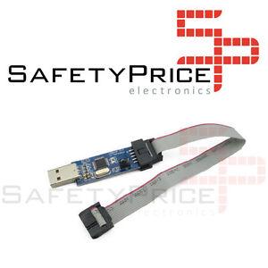 LC-01-51-AVR-programador-ISP-descarga-USBASP-Downloader-cable-de-transferencia