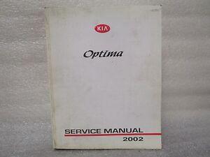 2002 service manual kia optima ebay. Black Bedroom Furniture Sets. Home Design Ideas