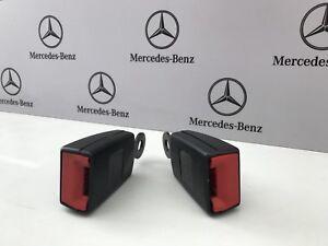 X2-Mercedes-Sprinter-Passenger-Seat-Belt-receiver-buckle-Fits-2006-2017-Original