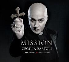 CECILIA BARTOLI Mission 2012 UK vinyl 2LP SEALED/NEW Diego Fasolis I Barocchisti