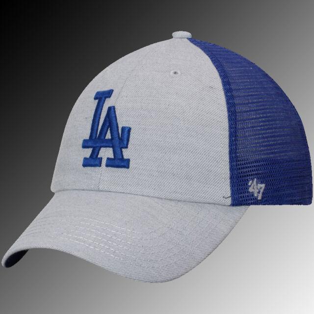 a1a8265f37b3c ... reduced new zealand los angeles dodgers 47 tamarac clean up snapback  adjustable hat gray royal men