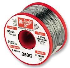 Multicore Solder Solder 6040 Hi Act 09mm 250g