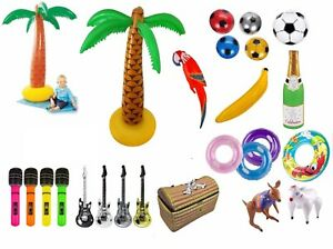 INFLATABLE KIDS BLOW UP TOY FANCY DRESS HEN STAG DO POOL SWIMMING PARTY TOYS
