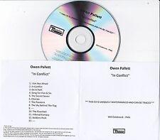 OWEN PALLETT IN CONFLICT RARE 13 TRACK PROMO CD