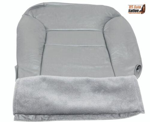1995-1999 GMC Sierra yukon Tahoe Driver Side Bottom Leather Seat Cover Gray