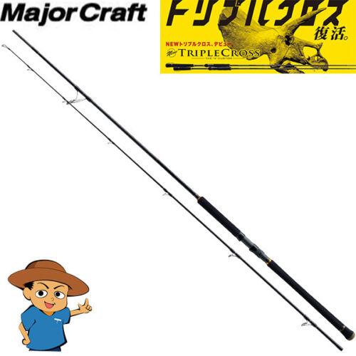 Major Craft TRIPLE CROSS TCX-1002HH Ultra Heavy 10/' fishing spinning rod
