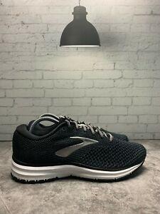 Brooks-Revel-2-Women-039-s-Running-Shoes-Black-Silver-White-Size-7-5b