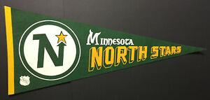 1970-039-s-Minnesota-North-Stars-NHL-Hockey-Pennant-Full-Size-Vintage