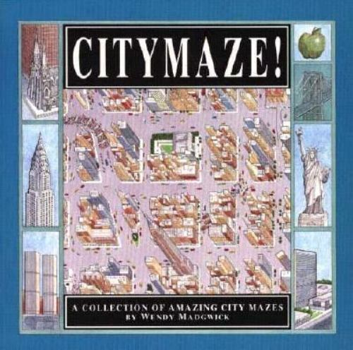 City Maze (Trd/Pb) by Wendy Madgwick
