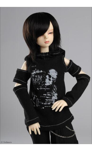 """Couya One-piece Black Dollmore 17/"""" 1//4 BJD MSD SIZE A7"""