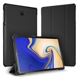 Para-Samsung-Galaxy-Tab-S4-10-5-T830-T835-Estuche-De-pie-Cubierta-Premium-Smart-Libro