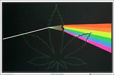 BLACKLIGHT POSTER 23X35 A FRIEND INDEED POT LEAF 1972 A FRIEND WITH WEED