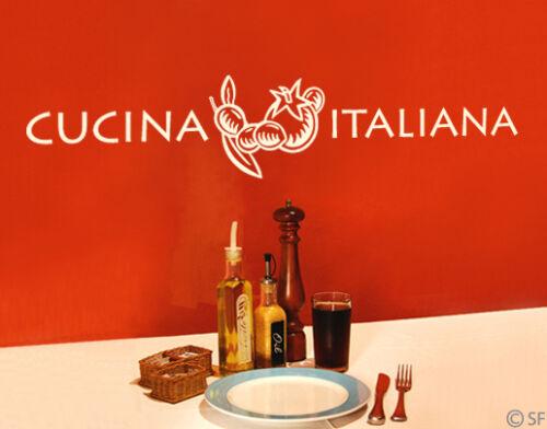 Wandtatto Küche Kitchen Italien Italia Cucina Italiana uss303