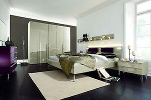 HÜLSTA Metis Plus Komplett Schlafzimmer Doppelbett 180 x 200 Lack ...