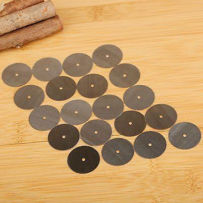 20pcs 25mm Steel Saw Wheel Wood Cutting Blade Discs Rotary Tools Power Drills