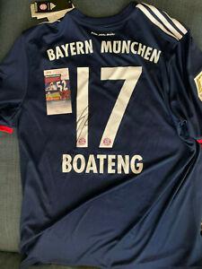 Bayern Munich Jerome Boateng Autographed Signed Bundelisga Jersey ...