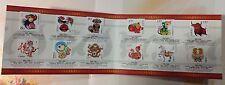 China Stamp 2004-1~2015-1 the 3rd Cycle of Chinese Zodiac Stamp folder 三轮生肖邮折
