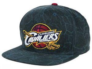 Cleveland-Cavaliers-Mitchell-amp-Ness-NBA-Men-039-s-Adjustable-Snapback-Cap-Hat