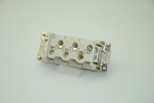 ZIPport ZP-MC16B-1-FS006 Female Ins for 6-Pole Conn Size 16B Lot of 5