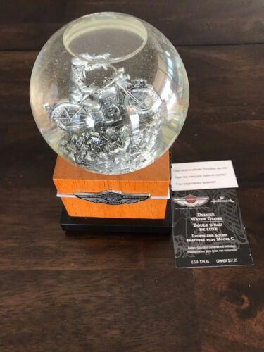 Harley Davidson 100th Anniversary Snow Globe new in box!
