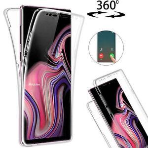 Für Samsung Galaxy S9 S9+ Plus Handy Hülle Cover Case Full TPU Schutzhülle Klar