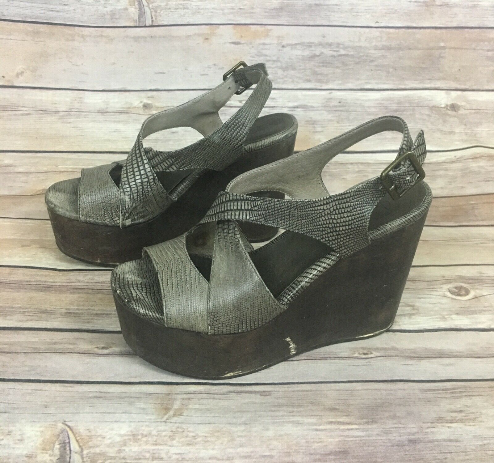 Joie Wedge Sandals (Size 6)