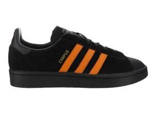 Mens-Adidas-Campus-Porter-Core-Black-Orange-B28143