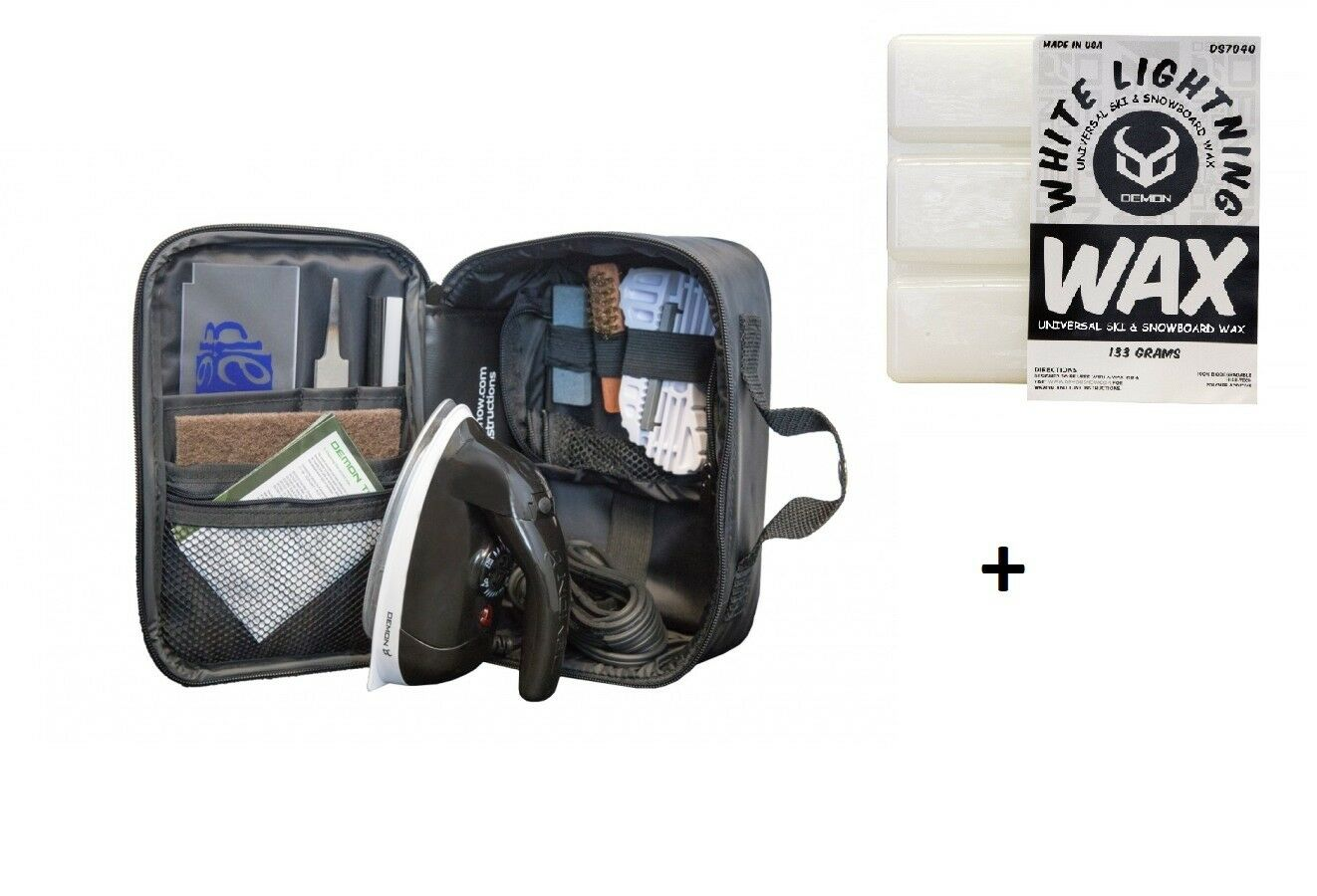 Maintenance Kit Ski Snowboard Foils Ski Wax Demon Complete Tune Kit DS 7700