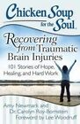 Chicken Soup for the Soul: Recovering from Traumatic Brain Injuries: 101 Stories of Hope, Healing, and Hard Work by Carolyn Roy-Bornstein, Amy Newmark (Paperback, 2014)