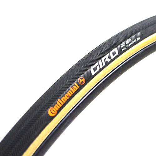 NEW 2021 CONTINENTAL GIRO Tubular Road Tire 28/'/'x22 mm Black Skinwall 700x22c