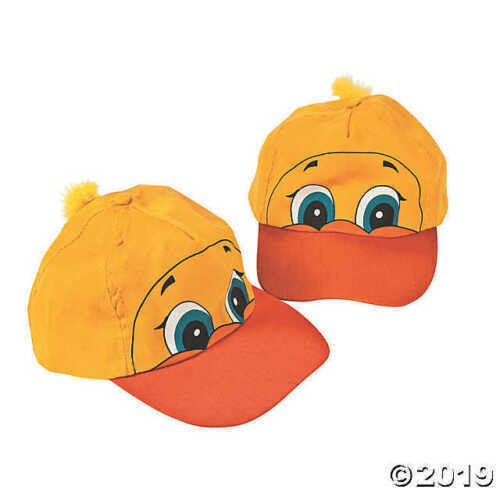 Ducky Baseball Cap Rubber Duck Go Ducks!