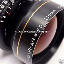 "Nikon NIKKOR-AM ED 210mm f/5.6 - ULF APO-MACRO PERFECTOPTICS 1:1+f/22 = 10x12"""