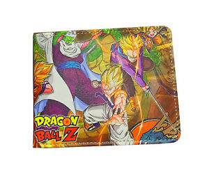 Dragon ball Z Dragon Ball Z DBZ billfold Son Goku short Wallet Men Purse