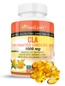 CLA-1000mg-Conjugated-Linoleic-Acid-Improves-Lean-Muscle-Tone-Fast-Weight-Loss