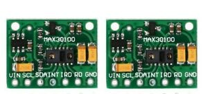 2x-MAX30100-Heart-Rate-Oximeter-Pulse-Sensor-Pulsesensor-Module-For-Arduino