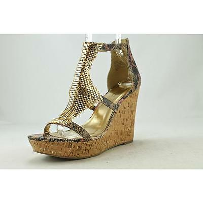 Thalia Sodi Sauco Women US 10 Multi Color Wedge Heel Blemish  13667