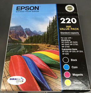 Epson 220 Ink Value Pack
