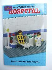 Lego joke get well card by Hallmark (in hospital joke) - 10899620