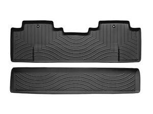 WeatherTech® FloorLiner - Honda Ridgeline - 2006-2014 - 2nd Row ...