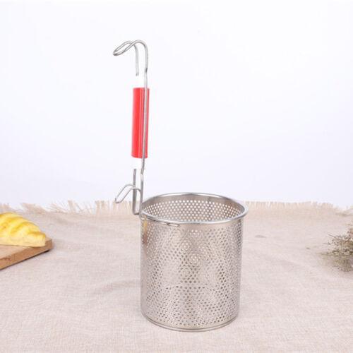 Stainless Steel Colander Noodle Strainer Drainer Food Kitchen Sieve Utensil