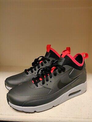 Nike Air Max 90 Ultra Mid Winter Men's Sz 9 Water Slip Resistant 924458 003 New 191887690948 | eBay