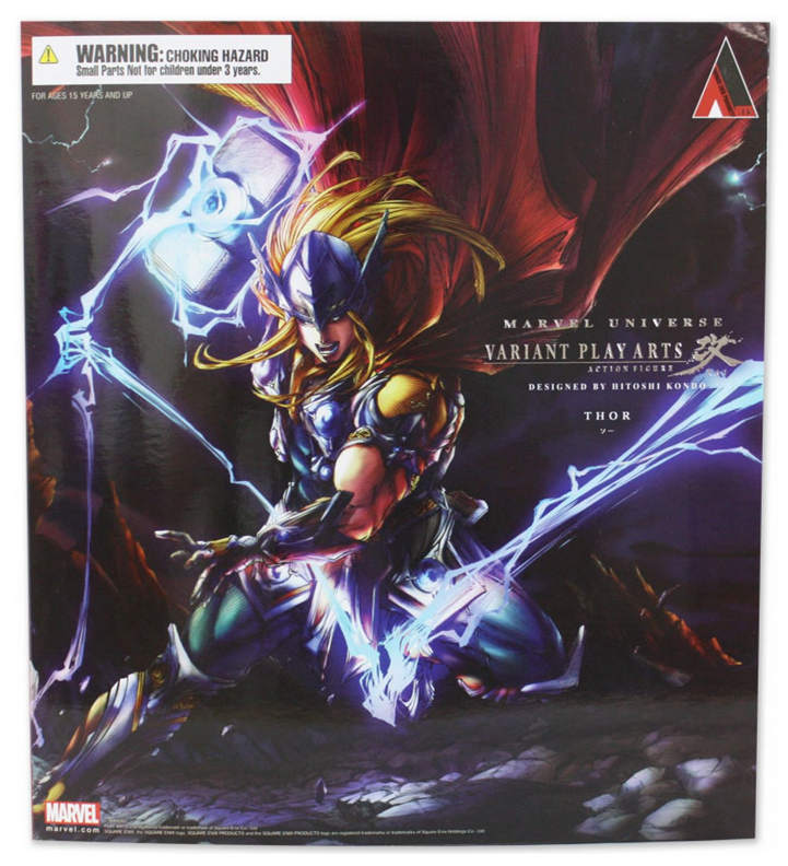 Marvel  Square Enix Play Arts Kai Thor Action Figure  magasin d'offre