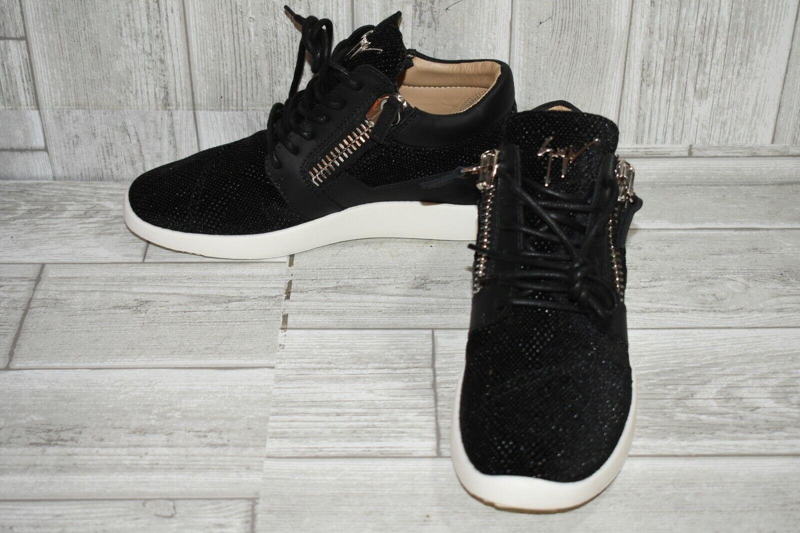 Giuseppe Zanottie Zanottie Zanottie RW80005 scarpe da ginnastica - Donna  Dimensione 7.5, nero 6604a1